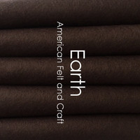 Earth - Wool Blend Felt