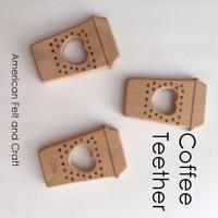 Coffee -  Beechwood Baby Teether