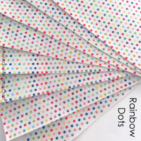 Polka Dot Rainbow