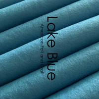 Lake Blue - Wool Blend Felt