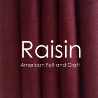 Raisin - Wool Blend Felt