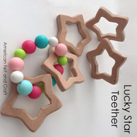 Lucky Star -  Beechwood Baby Teether
