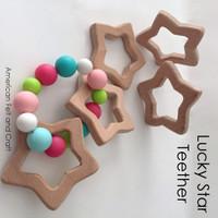 Lucky Star -  Beechwood Baby Teether