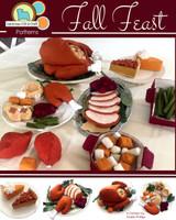 Fall Feast Thanksgiving - Felt Food PDF Pattern
