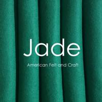 Jade - Wool Blend Felt