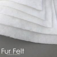 Fur Felt - White