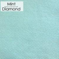 Mint diamond - Printed Felt
