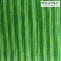 Green Bamboo - Printed Felt