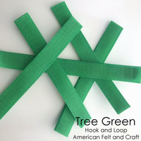 Hook and Loop - Tree Green