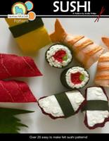 Sushi - Felt Food PDF Pattern