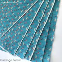 Flamingo Social - Printed Felt
