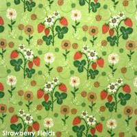 Strawberry Fields  - Printed Felt
