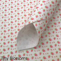 Tiny Blossoms - Printed Felt