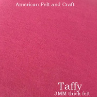 Taffy- 3mm thick felt sheet