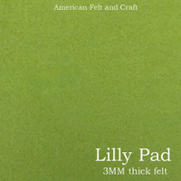 Lilly Pad - 3mm thick felt sheet
