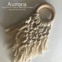 Aurora Macrame Teether