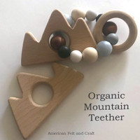 Organic Mountain - beech-wood teether