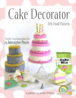 Cake Decorator - PDF Pattern NEW