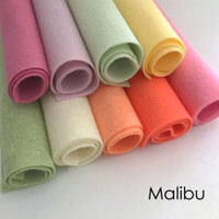 Malibu - 9 piece felt pack