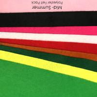 Mid-Summer 9 piece polyester felt pack