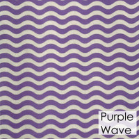 Purple Wave- Printed Felt