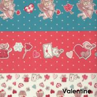 Valentines  - Printed Felt