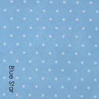 Blue Star - Printed Felt