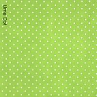 Lime Dot - medium dot