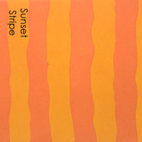 Sunset Stripe- Printed Felt