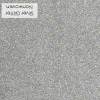 Silver - glitter nonwoven