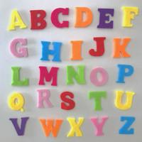 Alphabet Felt Shapes
