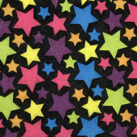Star bright- Printed Felt