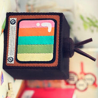 Retro TV Crafting Kit