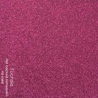 Fuchsia Faux Glitter Felt