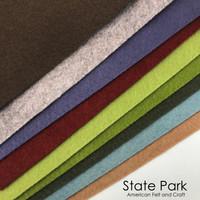 State Park - felt color collection