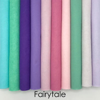 Fairytale - 10 piece felt color collection