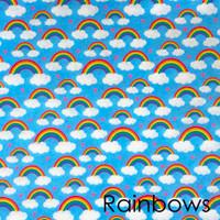Rainbows- Printed Felt