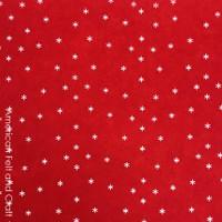 Starburst Felt - Red