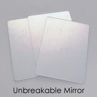 "3"" X 4"" Unbreakable Craft Mirror"