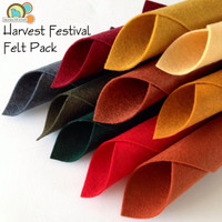 Harvest Festival 10 piece felt pack