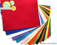 Rainbow connection - 15 piece felt pack