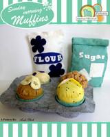 Sunday Morning Muffins- Felt food pattern