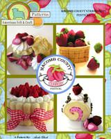 Felt Food - Macomb County Strawberry Festival PDF Pattern
