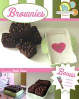 Felt Food- Classic Fudge Brownies.