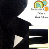 Hook and Loop - Black