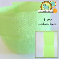 Hook and Loop - Lime