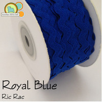 Royal Blue Ric Rac