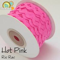 Hot Pink Ric Rac