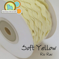 Soft Yellow Ric Rac