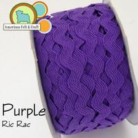 Purple Ric Rac